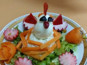 Снимка 2 от рецепта за Салата Мимоза