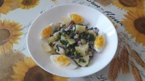 Снимка 2 от рецепта за Салата от картофи с лимонов сок