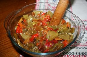 Снимка 2 от рецепта за Салата от печени чушки