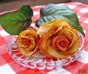 Снимка 2 от рецепта за Салата с ябълков чипс
