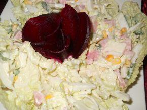 Снимка 2 от рецепта за Салата с китайско зеле и майонеза