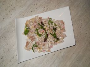 Снимка 2 от рецепта за Салата с препечени макарони