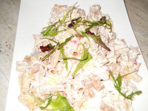 Снимка 3 от рецепта за Салата с препечени макарони