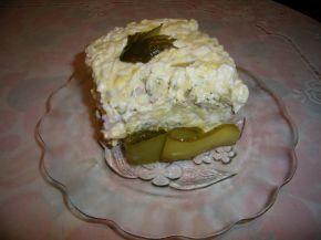 Снимка 5 от рецепта за Салата - солена торта