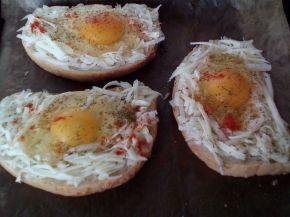 Снимка 3 от рецепта за Сандвичи на очи