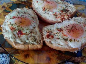 Снимка 4 от рецепта за Сандвичи на очи