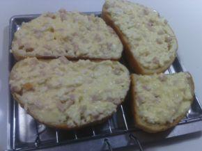 Снимка 11 от рецепта за Сандвичи за закуска