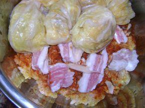 Снимка 3 от рецепта за Сарми и чушки с кълцано месо