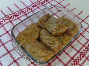 Снимка 2 от рецепта за Сарми с кълцано свинско месо