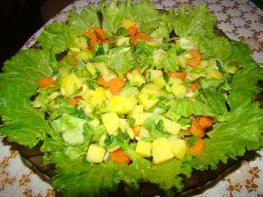 Снимка 2 от рецепта за Селска салата с месо