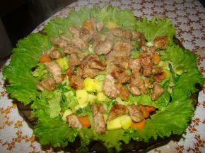 Снимка 6 от рецепта за Селска салата с месо
