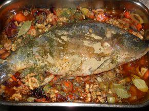 Снимка 3 от рецепта за Шаран на фурна за Никулден