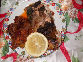 Снимка 5 от рецепта за Шаран на фурна за Никулден