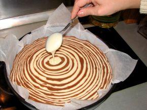 Снимка 3 от рецепта за Шарен кекс