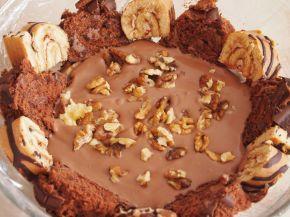 Снимка 4 от рецепта за Шарена  лесна торта с готови  рула