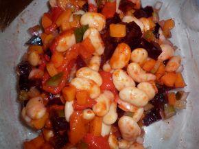 Снимка 2 от рецепта за Шарена салата с боб