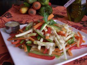 Снимка 2 от рецепта за Шарена салата с дресинг от горчица