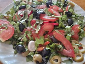 Снимка 2 от рецепта за Шарена салата с маруля