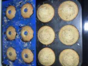 Снимка 3 от рецепта за Шарени мъфини с Дерби Дюля