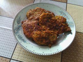 Снимка 2 от рецепта за Шницели с къдрави картофи