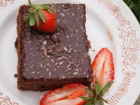 Снимка 5 от рецепта за Шоколадов Фъч