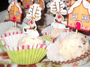 Снимка 2 от рецепта за Шоколадови топки с кокос