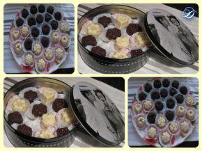 Снимка 2 от рецепта за Шоколадово-бисквитени бонбони
