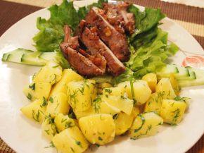 Снимка 5 от рецепта за Шпиковано свинско