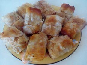 Снимка 2 от рецепта за Щрудел с ябълки, златни стафиди и орехи