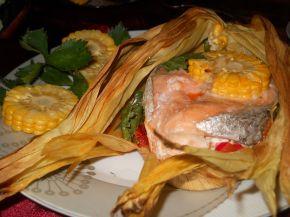Снимка 9 от рецепта за Сьомга в мексикански стил