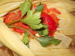 Снимка 6 от рецепта за Сьомга в мексикански стил