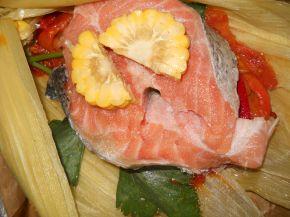 Снимка 7 от рецепта за Сьомга в мексикански стил
