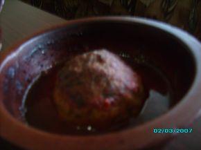 Снимка 3 от рецепта за Скрити яйчица в доматен сос