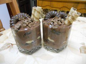 Снимка 6 от рецепта за Сладки чашки с шоколад и банан