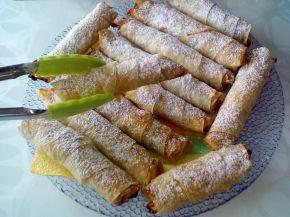 Снимка 3 от рецепта за Сладки пурички с турски кори
