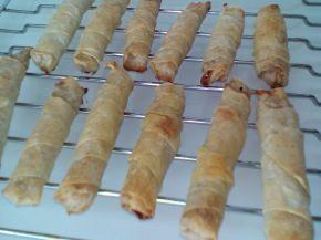 Снимка 4 от рецепта за Сладки пурички с турски кори