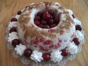 Снимка 2 от рецепта за Сладкиш от ориз и мляко с вишни