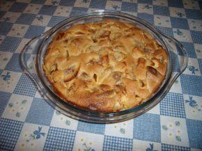 Снимка 2 от рецепта за Сладкиш с бисквити и ябълки
