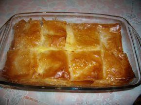Снимка 2 от рецепта за Сладкиш с грис /Галактобурико-Гърция/