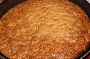 Снимка 3 от рецепта за Сладкиш с ябълки и грис