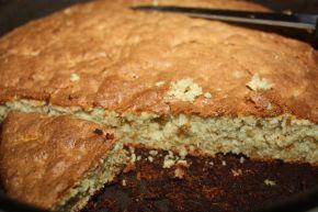 Снимка 5 от рецепта за Сладкиш с ябълки и грис