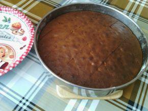Снимка 2 от рецепта за Сладкиш с ябълки и кафява захар