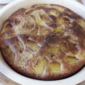 Снимка 3 от рецепта за Сладкиш с ябълки - II вариант