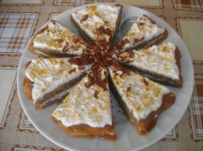 Снимка 2 от рецепта за Сладкиш с карамел и шоколад