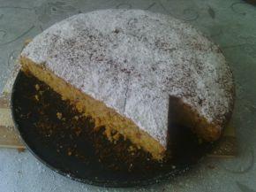 Снимка 2 от рецепта за Сладкиш с тиква и орехи