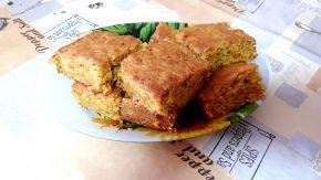 Снимка 4 от рецепта за Сладкиш с тиква, орехи и канела