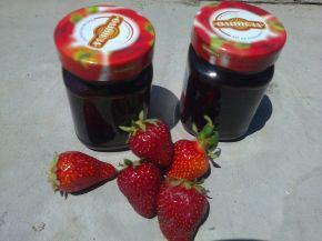 Снимка 2 от рецепта за Сладко и сироп от ягоди