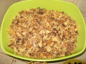 Снимка 3 от рецепта за Сладоледена торта от трохи