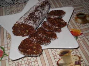 Снимка 7 от рецепта за Сладък салам с портокалово сладко