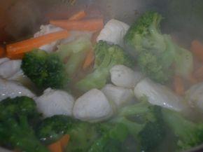 Снимка 3 от рецепта за Сметанова манджичка с пиленце